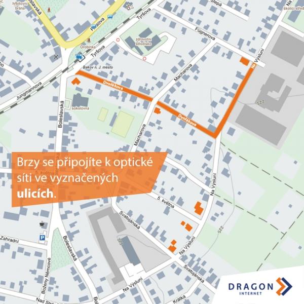 Rozšíření sítě Bakov nad Jizerou
